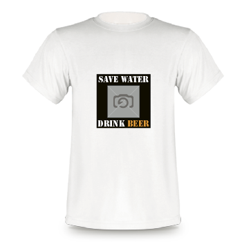 T-Shirt 1009 | Save Water - Drink Beer