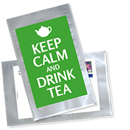 1032_Tee-Postkarte | Keep calm and drink tes