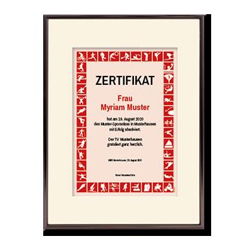 1016_Urkunde   Sportler-Zertifikat rot