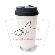 Thermo-Trinkbecher Shark