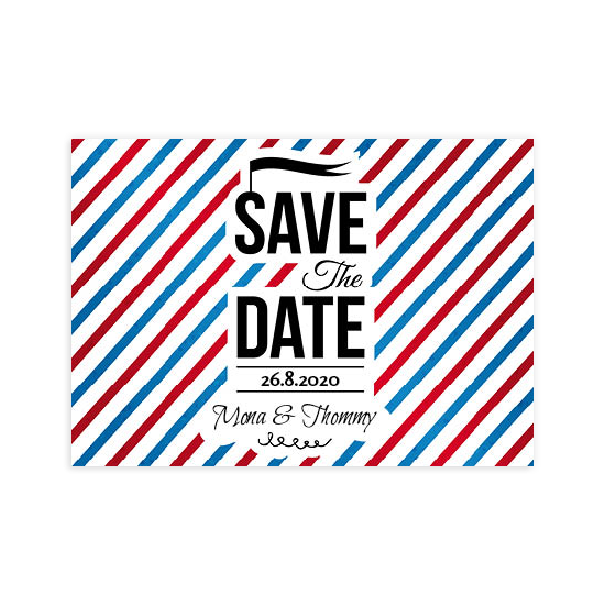 Postkarte 1014 Save the Date