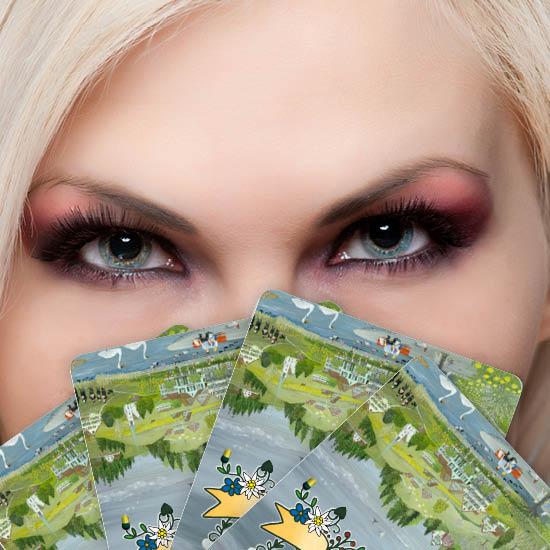 jasskarte spielkarten 1139  vier jahreszeiten von