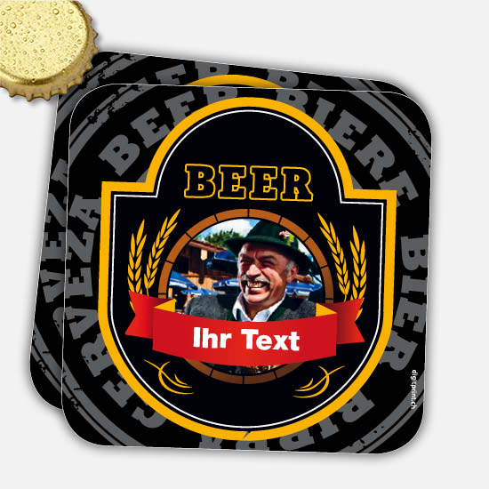 Bierdeckel 1115 | Black-Beer