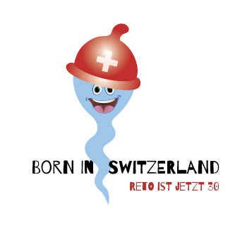 T-Shirt 1003 | Born in Switzerland