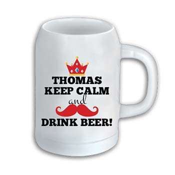Bierkrug 1023 | Keep Calm